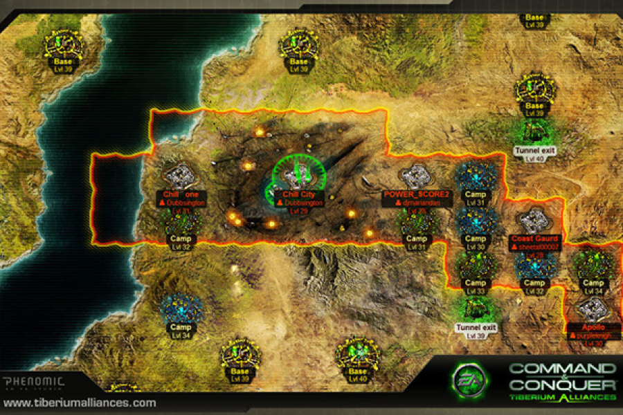 Command & Conquer: Tiberium Alliance Screenshot3