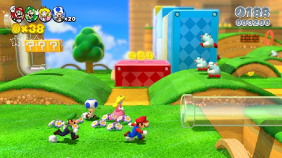Spiel Super Mario 3D World