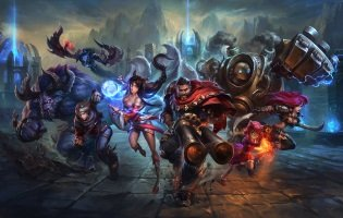 League of Legends Promo Art