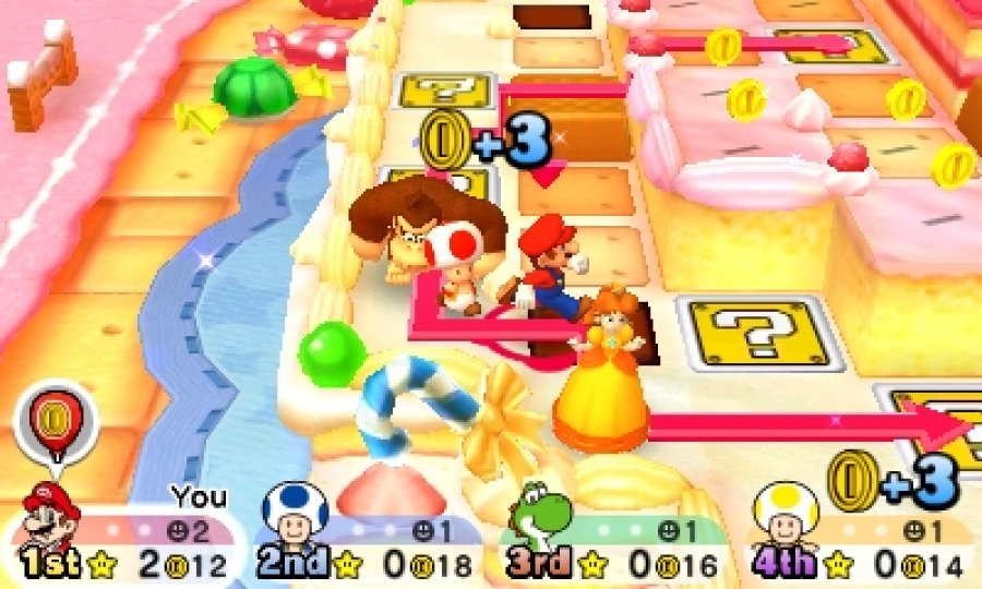 Mario Party: Star Rush - Screenshot 3
