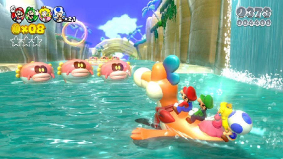 Super Mario 3D World Screenshot 2
