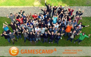 Gamescamp Gruppenphoto