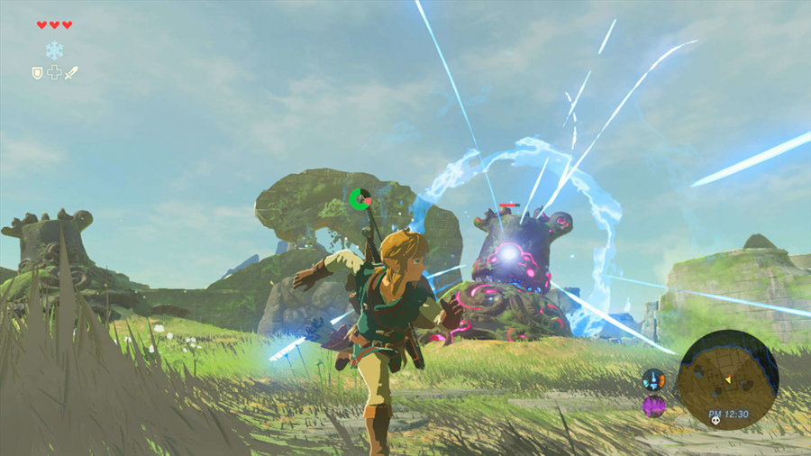 Screenshot Legend of Zelda: Breath of the Wild