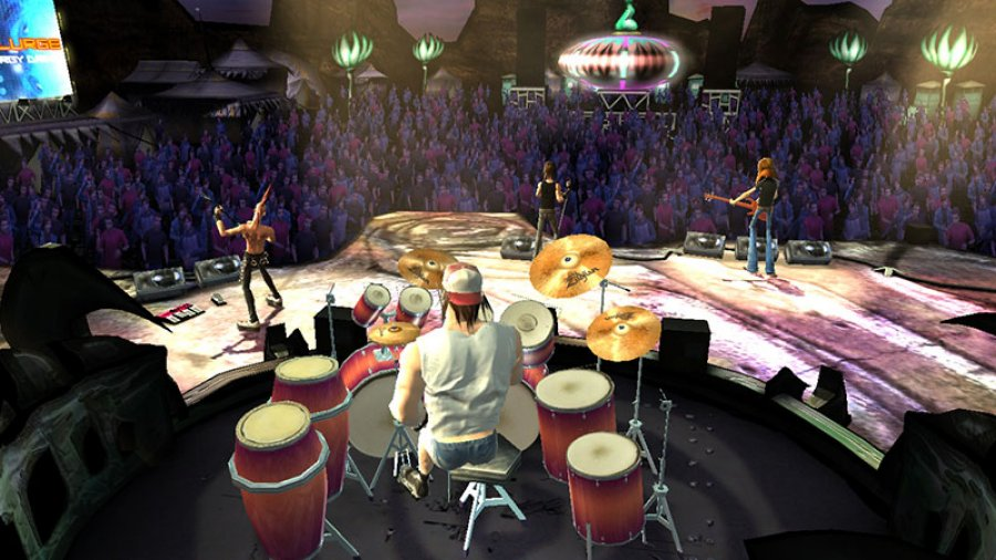 "Szene aus ""Guitar Hero III: Legends of Rock"""