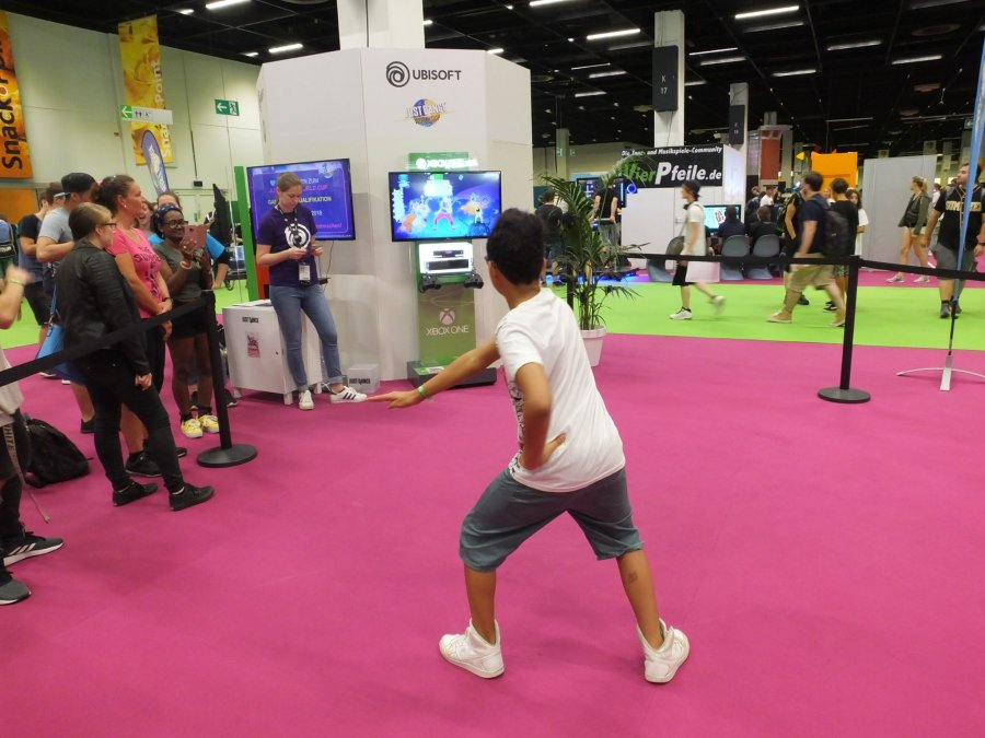 Just Dance in Halle 10.2