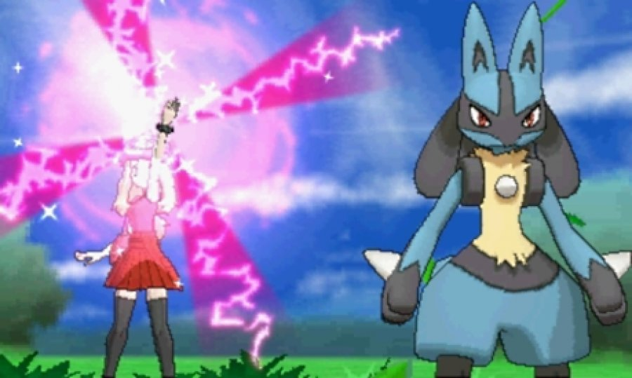 Pokémon X/Y Screenshot