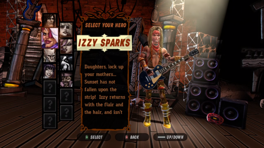 "Spielszene aus ""Guitar Hero III: Legends of Rock"""