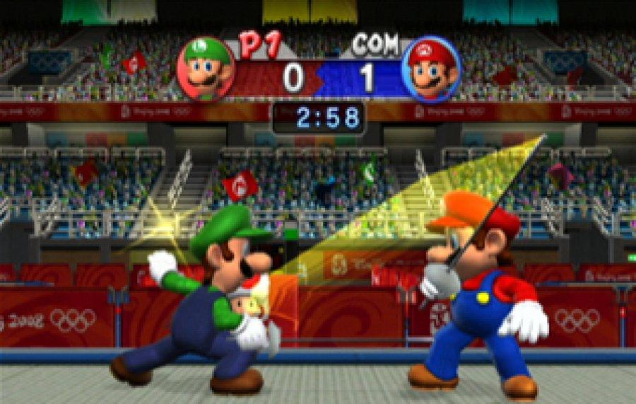 Mario Sonic Bei Den Olympischen Spielen Spielbarde