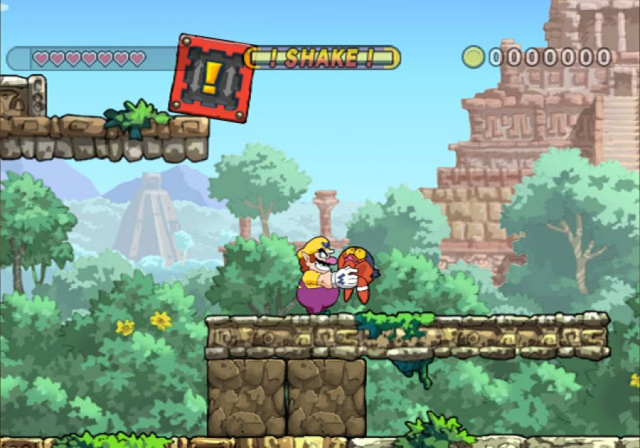 "Spielszene aus ""Wario Land: The Shake Dimension """