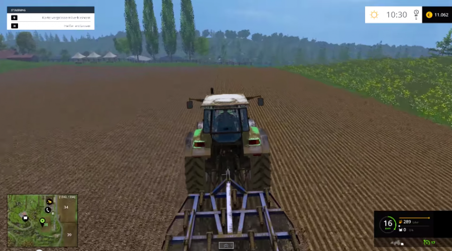 Landwirtschafts-Simulator 15 - Screenshot - Traktor