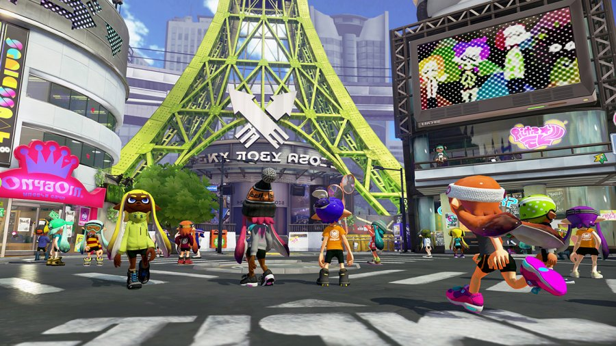 Splatoon - Screenshot - Inkopolis