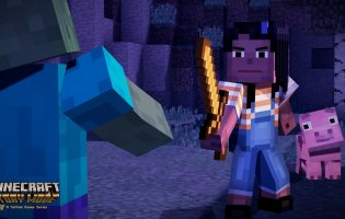 Minecraft: Story Mode - Screenshot 3
