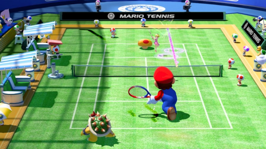Mario Tennis Ultra Smash - Screenshot 1