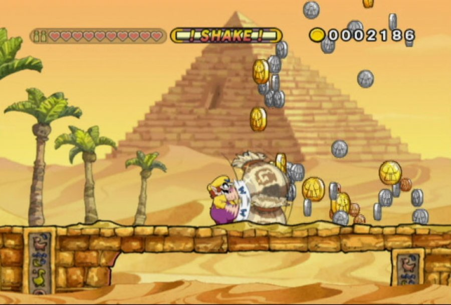 "Szene aus ""Wario Land: The Shake Dimension"""