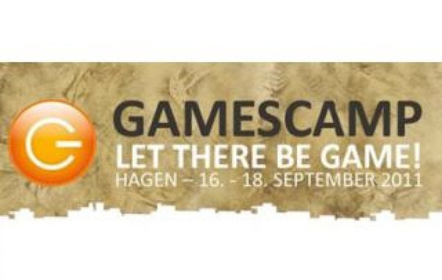 Logo vom Gamescamp 2011