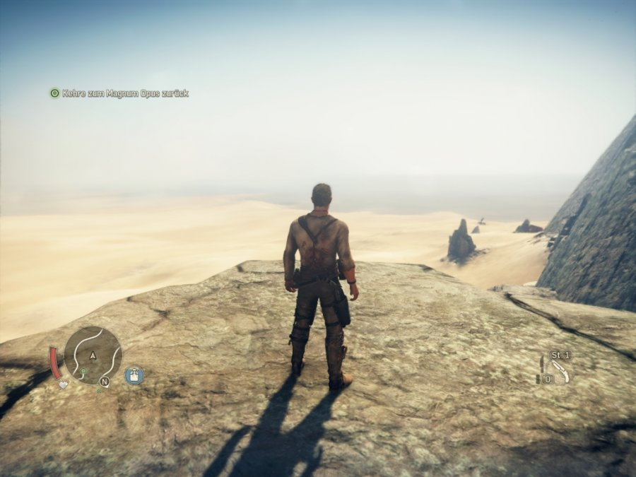 Mad Max - Screenshot 1