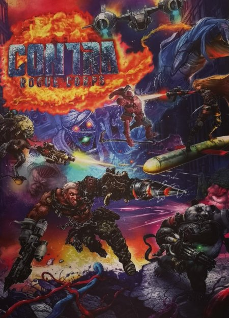 Contra: Rouge Corps (Konami) - Charaktere