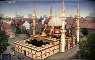 Moschee in Religiopolis