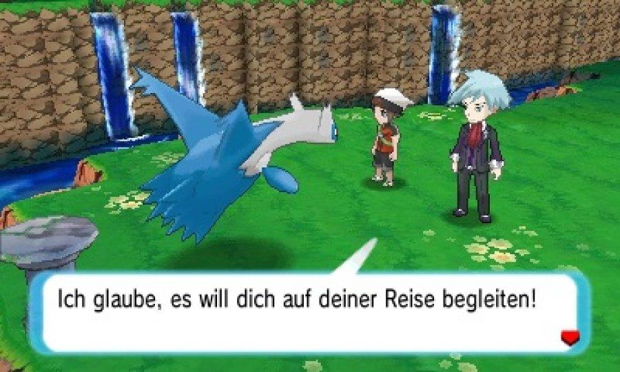 Pokémon Omega Rubin Spielbarde