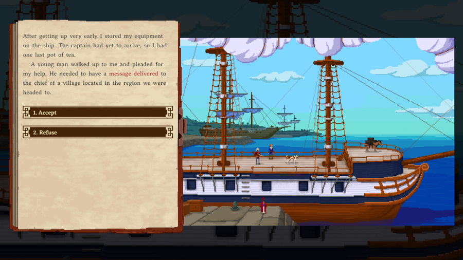 The Curious Expedition - Screenshot 1