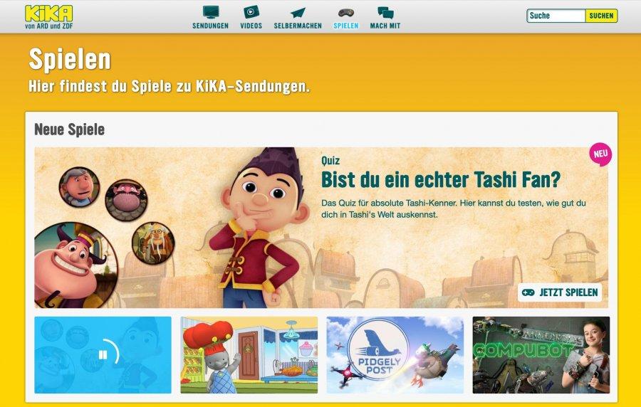Spieleseite FГјr Kinder