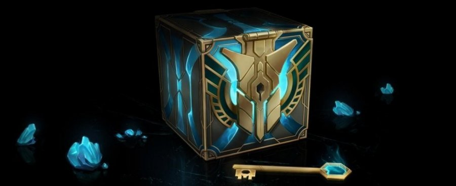 Eine Lootbox aus League of Legends.