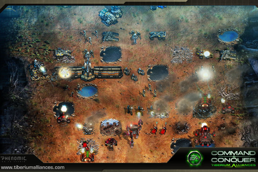 Command & Conquer: Tiberium Alliance Screenshot1