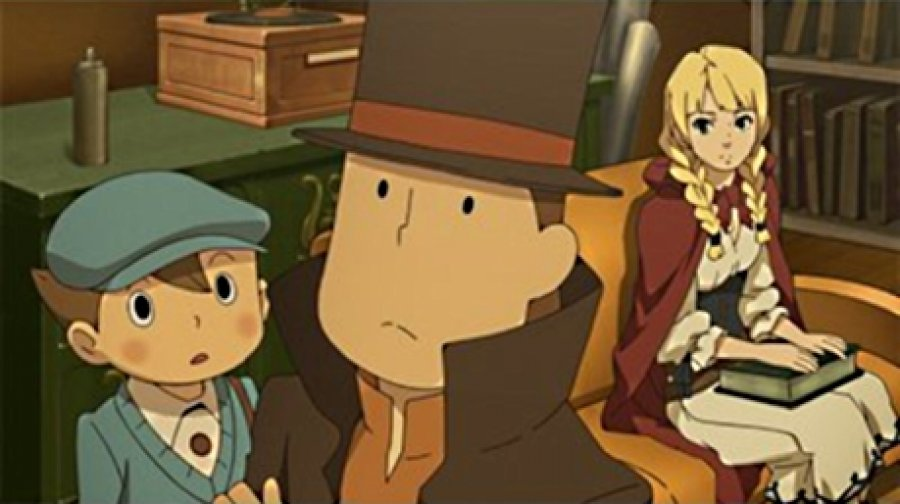 Professor Layton vs Phoenix Wright Screenshot 1