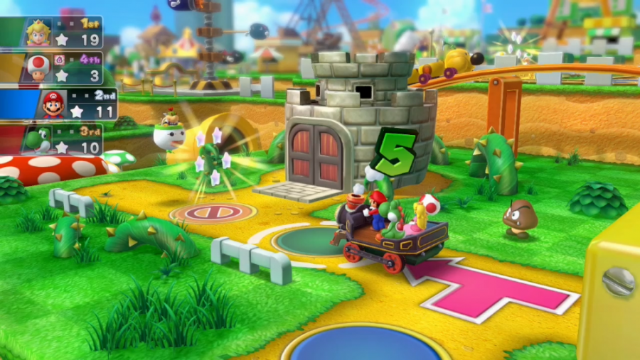 Mario Party 10 - Screenshot 1 Spielbrett