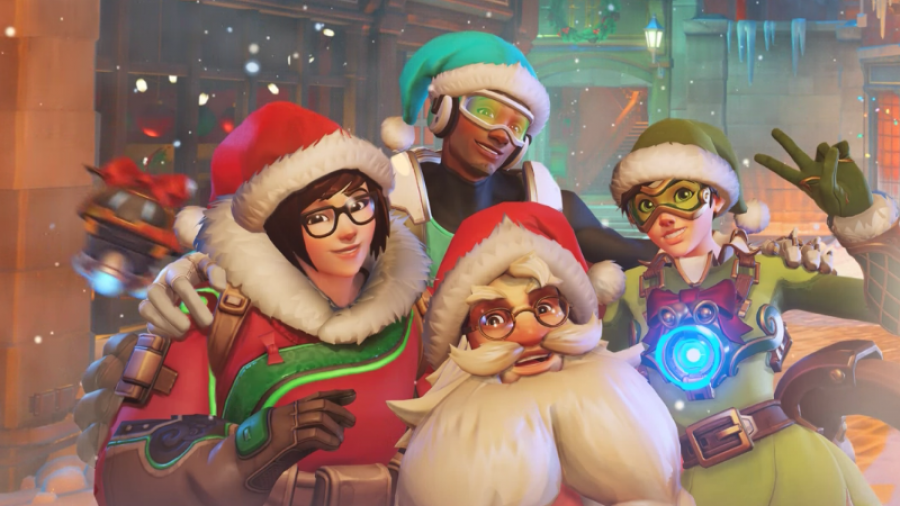 Weihnachten in Games - Events - Overwatch