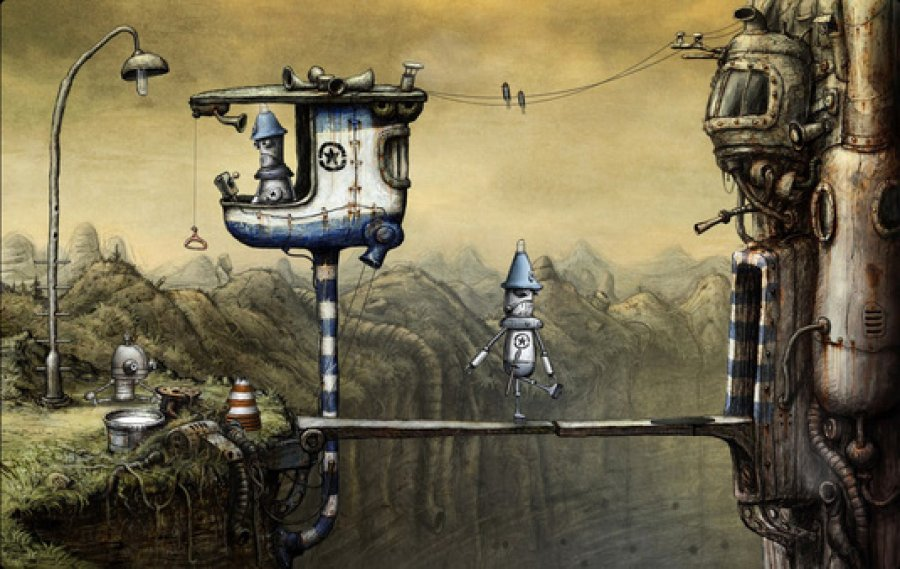 Machinarium Teaser