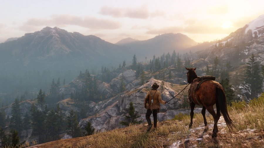 Read Dead Redemption 2 / Rockstar Studios / Screenshot by spielbar.de