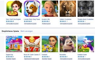 Social Games bei Facebook