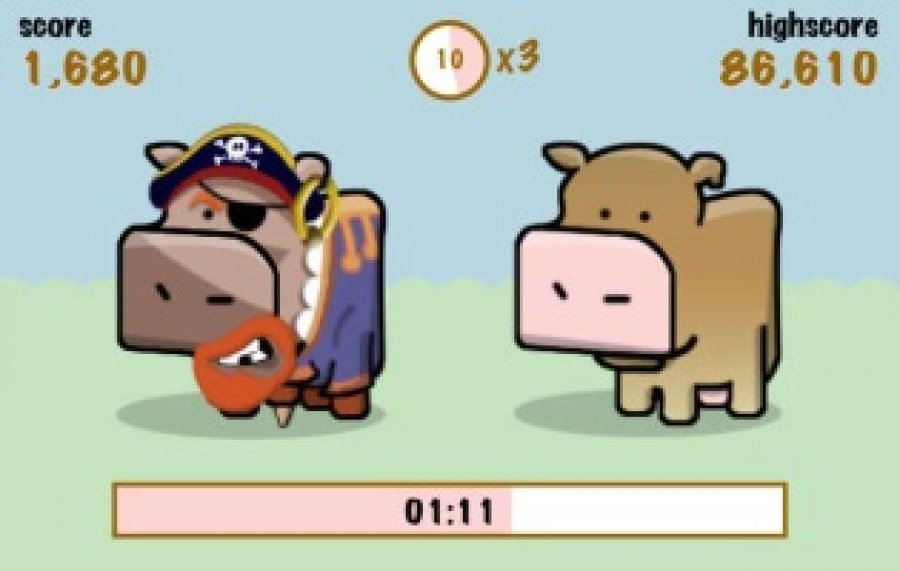 satirisches Social-Game Cow Clicker