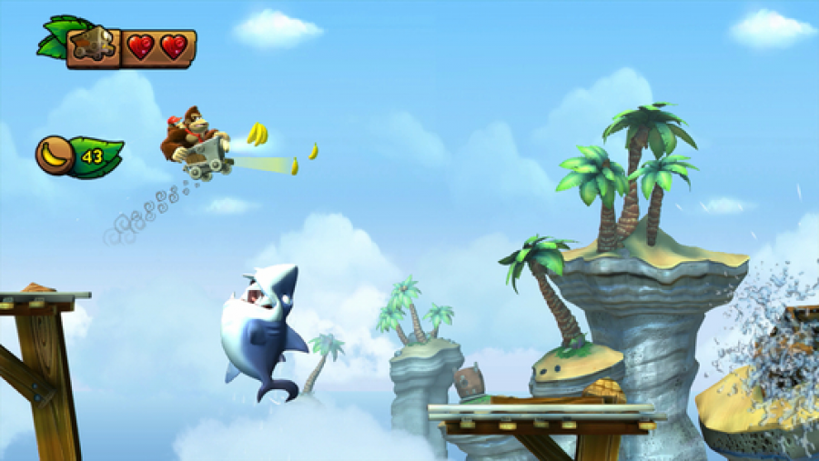Donkey Kong Country: Tropical Freeze - Screenshot 1